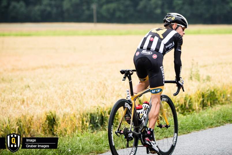 TEAM MTN-QHUBEKA RIDER, LOUIS MEINTJES, FOUGHT HARD TO FINISH IN 5TH POSITION DESPITE A CRASH ON STAGE 12 AT THE 2015 TOUR DE FRANCE YESTERDAY. PHOTO: MTN-QHUBEKA