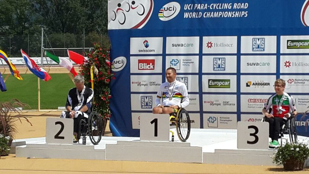 Newly crowned Time Trial World Champion, Pieter Du Preez, said that he is in the form of his life at the 2015 UCI Para-cycling Road World Championships, taking place in Notwill, Switzerland, from 29 July to 2 August.