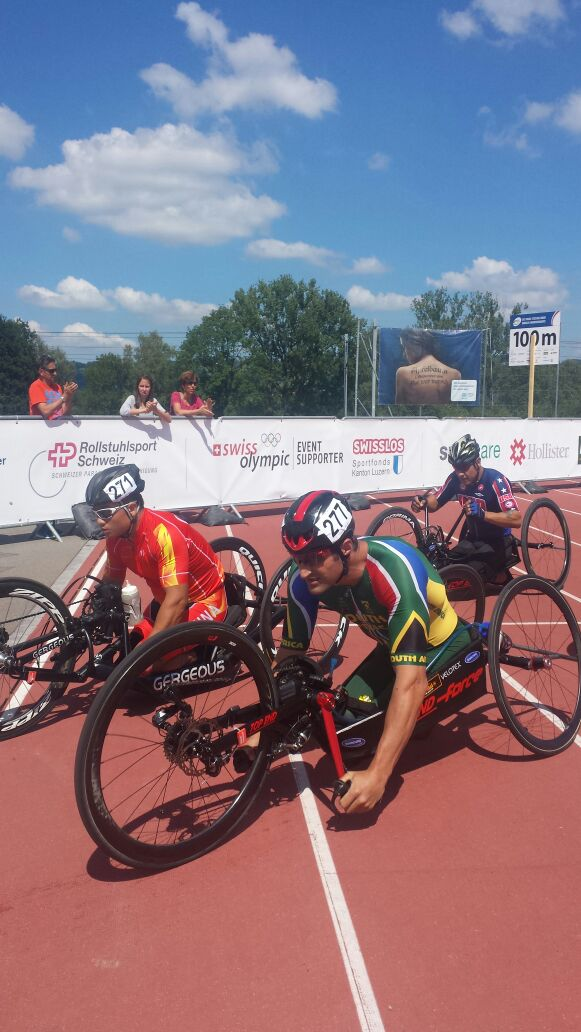 H5 Para-cyclist Ernst van Dyk will be representing South Africa as his own country hosts the 2015 UCI Para-cycling Road World Cup in Pietermaritzburg from 11-13 September. Photo: Illse du Preez