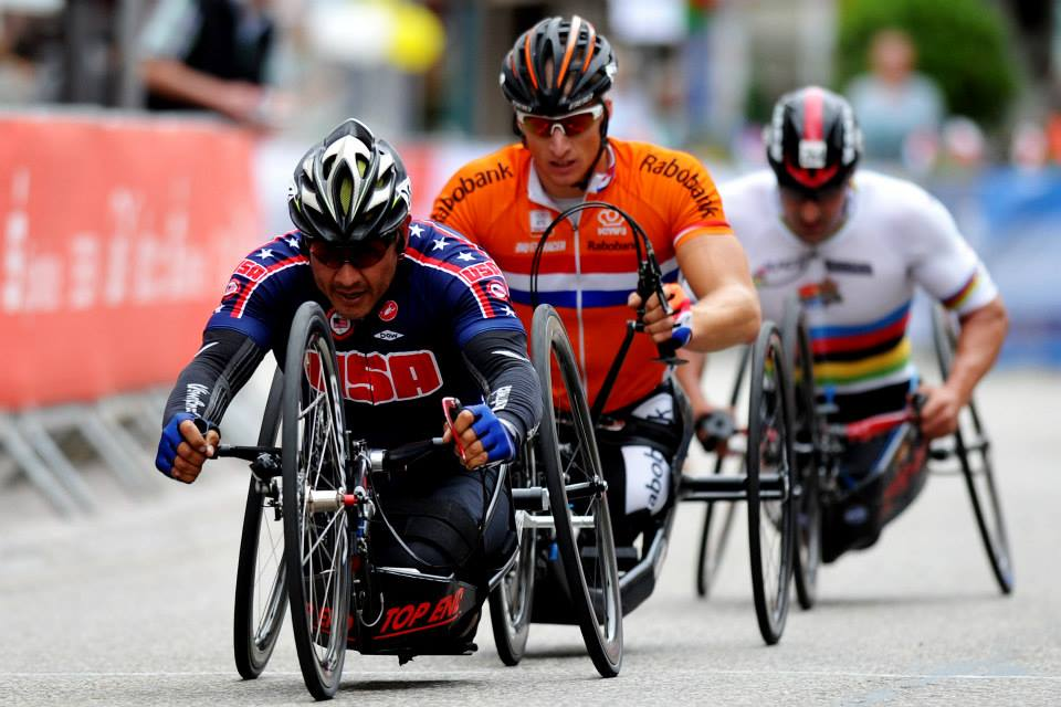 Multiple world champion and Paralympian medalist, Oscar Sanchez (USA), hopes to bring his love for speed and discipline to South Africa when he competes in the 2015 UCI Para-cycling Road World Cup in Pietermaritzburg from 11-13 September. Photo:    uci.ch