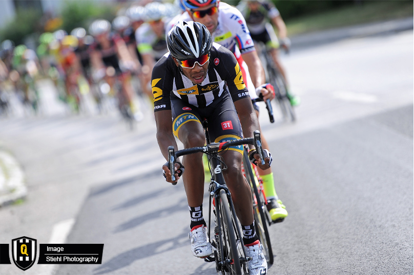 South Africa's Songezo Jim of Team MTN-Qhubeka was part of the 14-man breakaway at his first ever Grand Tour on the ninth stage of the La Vuelta a Espana. Photo: MTN-Qhubeka