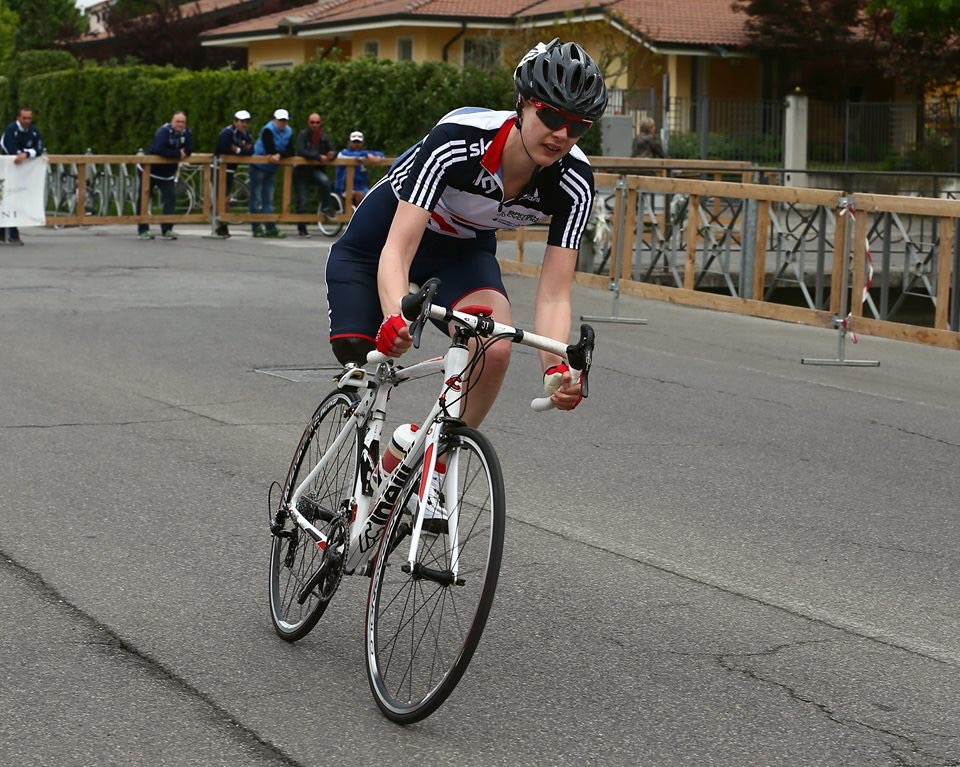 British C2 para-cyclist and mom of two, Sally Hurst, looks forward to competing in the 2015 UCI Para-cycling Road World Cup in Pietermaritzburg from 11-13 September. Photo: Supplied