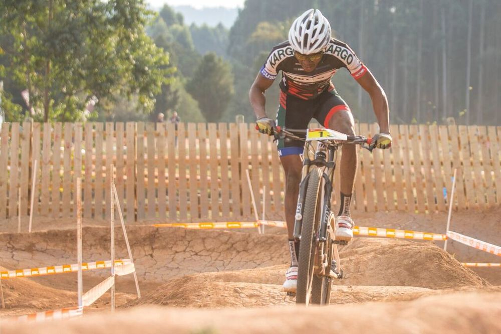 Professional mountain biker William Makgopo has been nominated for Sport Personality of the Year at the 2015 Gauteng Sports Awards. The category is one of three with outcomes based purely on the votes of the public. Photo: Supplied