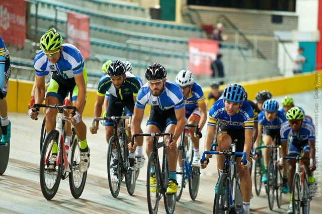 The Western Cape Province brought out all the stops at the second round of the Track Cycling Interprovincial and Grand Prix at the Bellville Velodrome on 6 and 8 November. Photo: Owen Lloyd / Team Intellibus