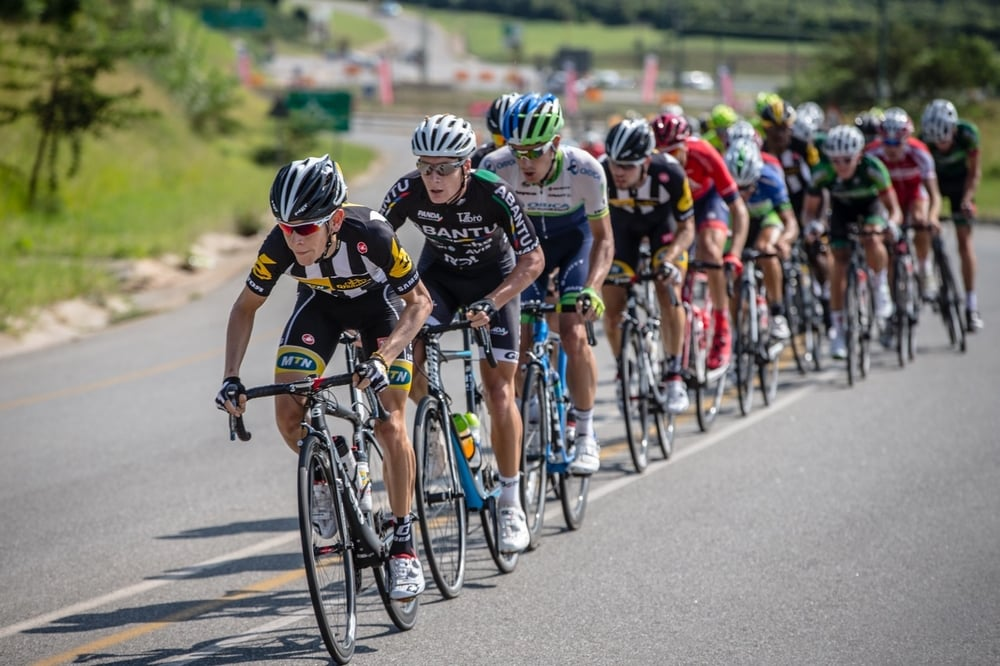 Big names such as Louis Meintjes (front) and Daryl Impey (third) will be heading to KZN to compete in the The 2016 SA Road Championships from 10-14 Ferbuary.