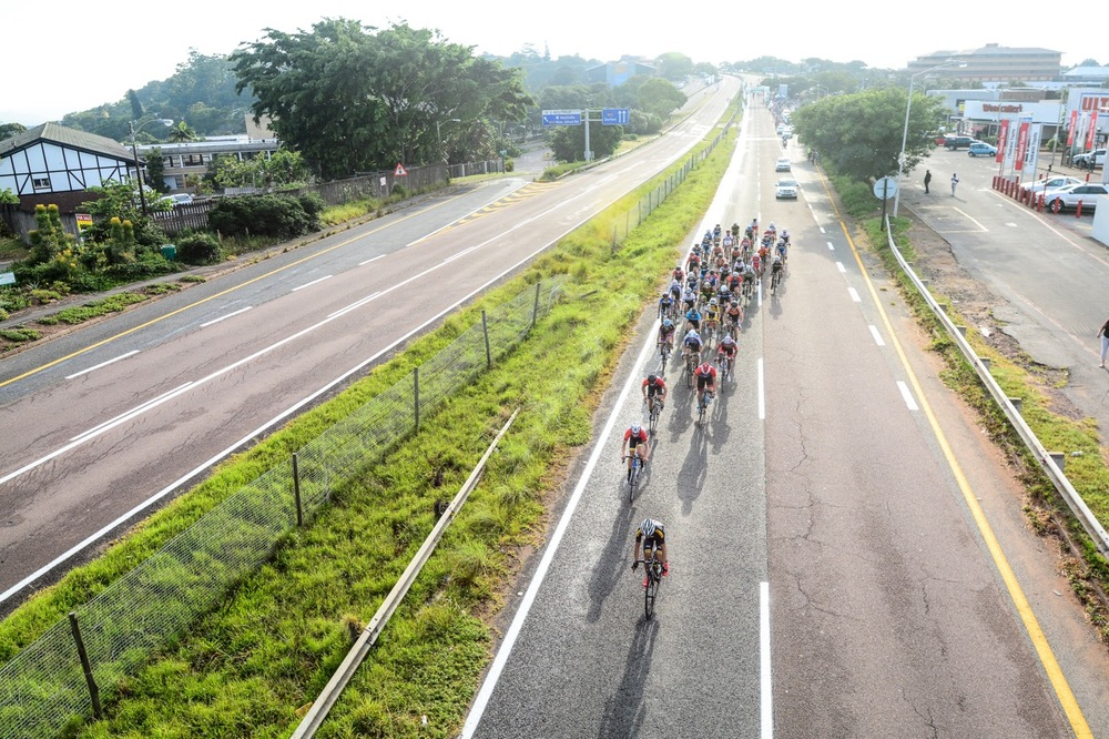 Competitors relished the closed roads and cycle safety at the 2016 SA National Road, Time Trial and Para-cycling Championships in Westville, KwaZulu-Natal, on Sunday 14 February. Photo credit: Darren Goddard