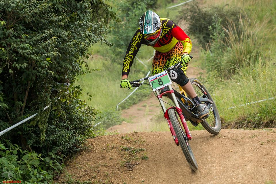 Downhill course designer, Nigel Hicks, says that this one will definitely be rough, but exciting, at the second round of the 2016 KZNMTB Provincial SA DHI Cup - which takes place at Giba Gorge MTB Park on  Sunday 27 March. Photo: Paul Botma