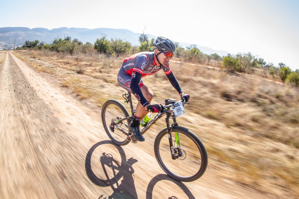 thletes like defending Champion, Gawie Combrink, will battle for glory over picturesque landscapes at the 2016 South African Mountain Bike Marathon Championships in Clarens, Free State from 16-17 April. Photo: Craig Dutton