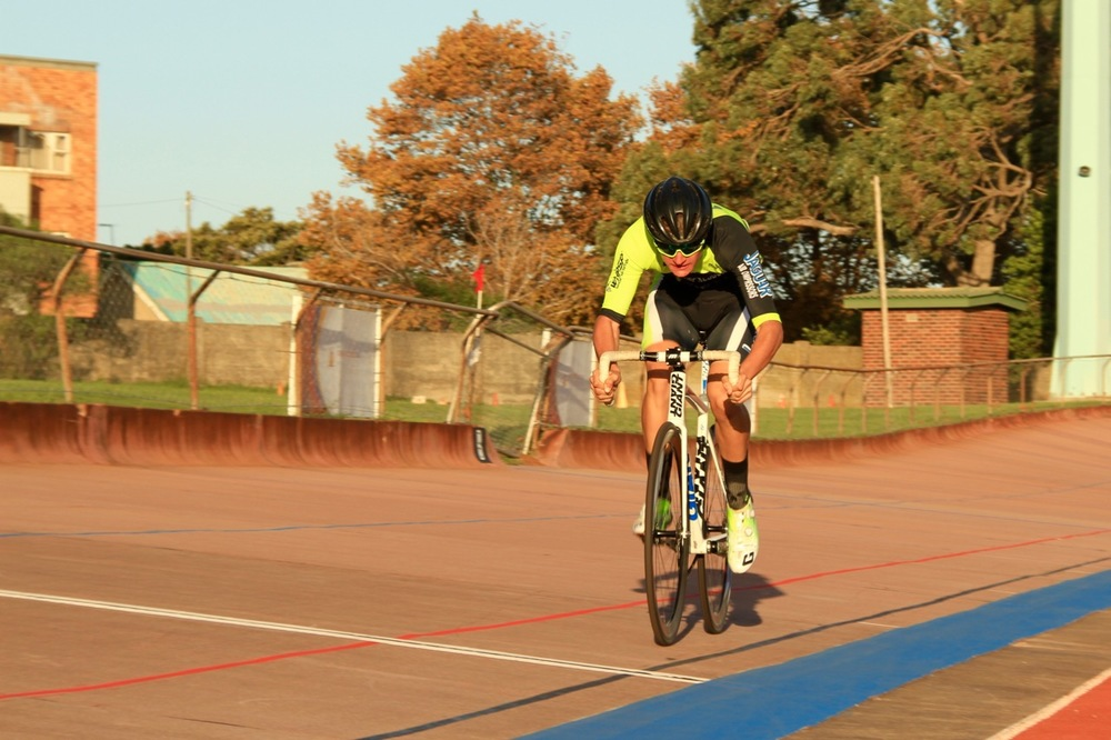 Newcomer to track cycling, Keagan Bontekoning, claimed the under-16 Boys title at the 2016 South African Omnium Championships at the Westbourne Oval in Port Elizabeth from Saturday 2 to Sunday 3 April. Photo credit: Mylene Paynter