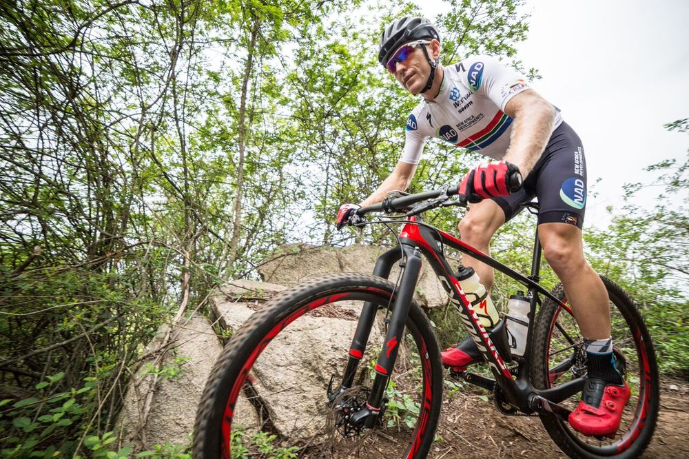 Defending Elite Men's Champion, Gawie Combrinck (NAD Pro MTB Team) is ready and eager to battle it out at the 2016 South African Mountain Bike Marathon Championships in Clarens – from 16-17 April. Photo: JB Badenhorst.