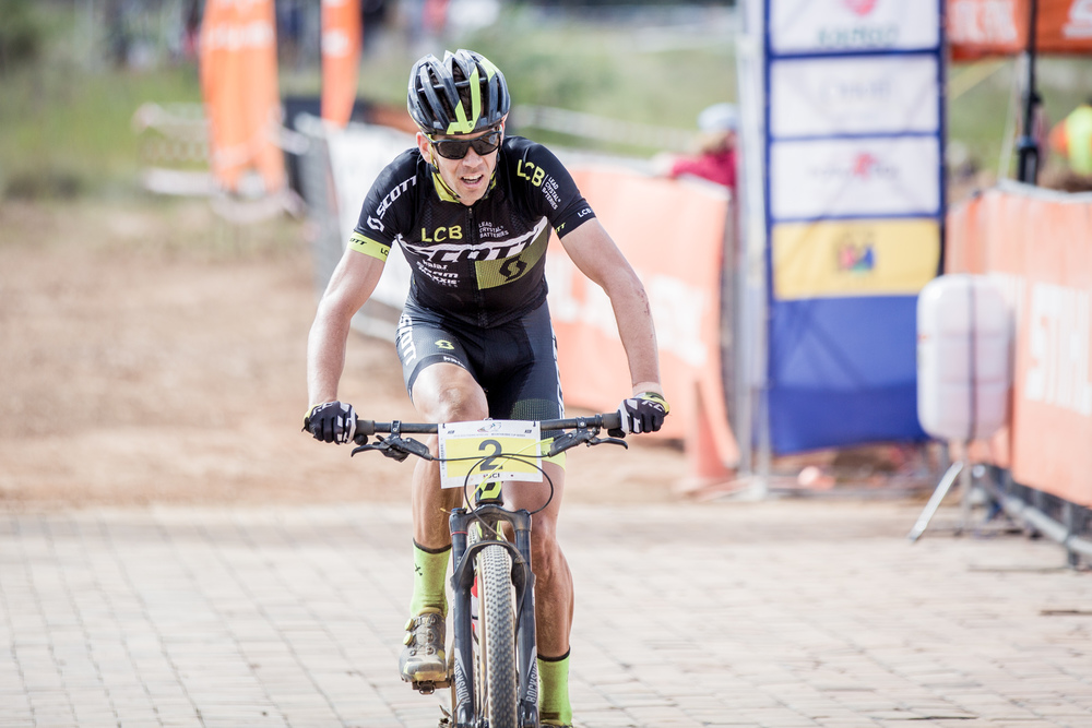 Scott Factory Racing (Powered by LCB)'s Philip Buys will be giving his all at the fifth and final round of the STIHL 2016 SA MTB Cup Series XCO, which takes place at the Happy Valley Conservancy in Bloemfontein on Saturday 18 June. Photo: Hendrik Steytler