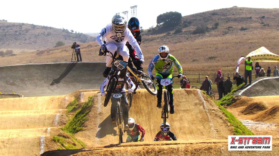 Current National Champion, Kyle Dodd, took the Elite Men's title at rounds four, five and six of the South African National Age Group Series (NAG), which took place at the brand new X-Stream Balance Adventure Park track in Krugersdorp on Saturday 2 and Sunday 3 July. Photo: Supplied