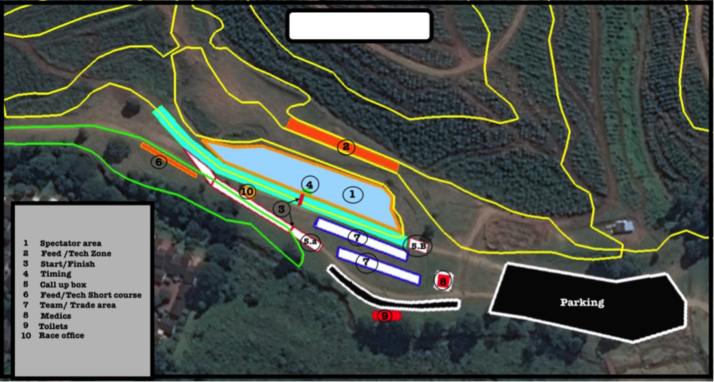 SA MTB CHAMPS VENUE LAYOUT