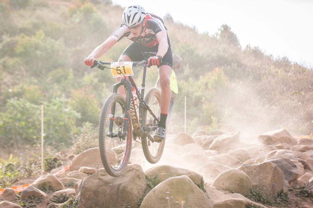 Julian Jessop (Concept Cyclery Ballito) took top honours in the under-23 race at the STIHL 2016 South African National Mountain bike Championships at Cascades MTB Park in Pietermaritzburg on Saturday 16 July 📸 Andrew Mc Fadden/BOOGS Photography