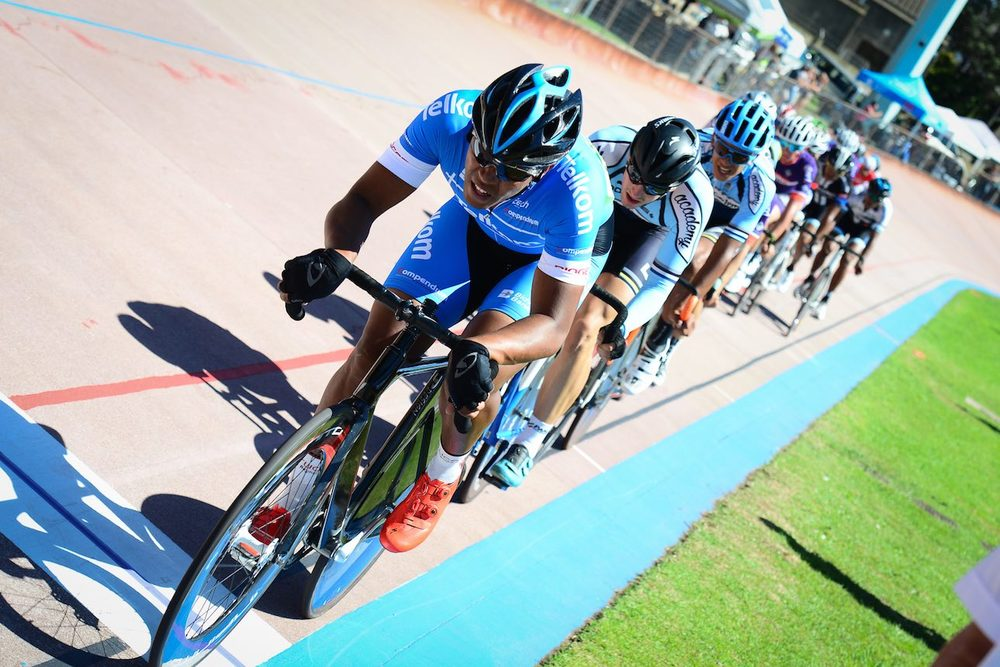 Nolan Hoffman (Team Telkom) will soon head to the province of KwaZulu-Natal to take part in rounds one and two of the South African Track Grand Prix and National Series, which take place in Durban, at the Cyril Geoghegan Cycle Track from 7-9 August 2016. Photo: Cycling SA