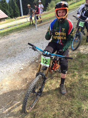 Team SA experience great but challenging DHI Worlds course 85c1cdfaf