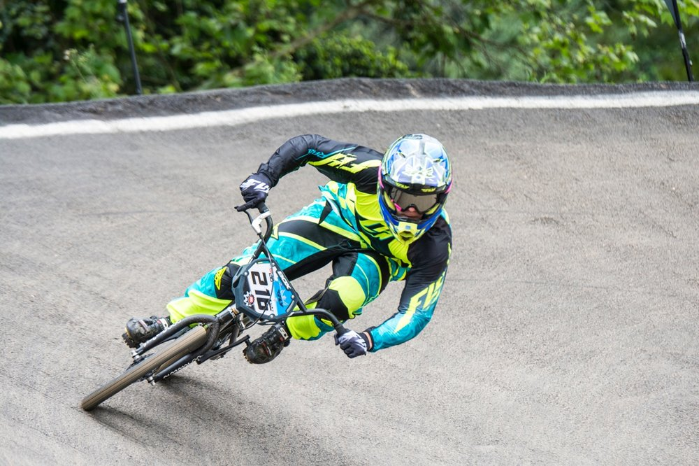 Kyle Dodd defended and won both Elite Men's titles at the 2016 South African National BMX Championships and the African Continental BMX Championships at Giba Gorge on Saturday 1 and Sunday 2 October. Photo: Andrew McFadden/BOOGS Photography