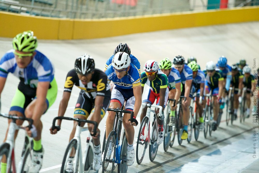Cycling South Africa's Track Commission is pleased to announce an upcoming action-packed weekend of racing at the Bellville Velodrome from Friday 16 to Sunday 18 December 2016. Photo: Owen Lloyd.