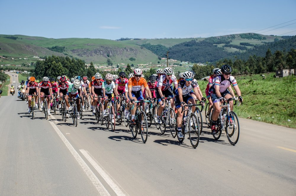 Racing was of a high calibre as local and international professional cycling teams battled it out at the KZN Summer Series for Women - Queen Nandi Challenge - in Pietermaritzburg and surrounds on Wednesday 16 November 2016. Photo credit: Stuart Pickering/Cycling Direct