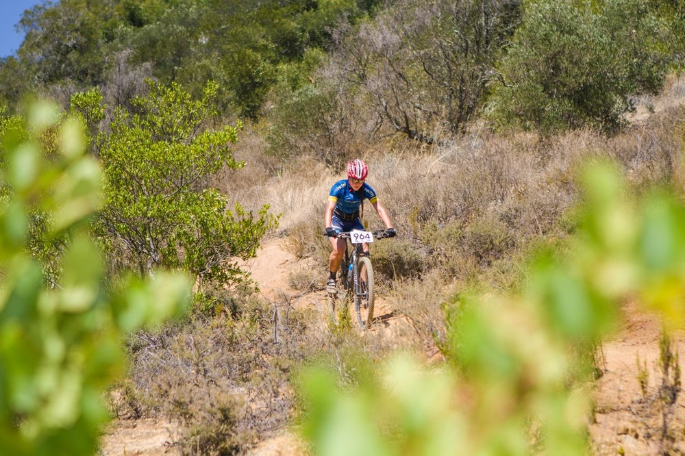 This year's National MTB Marathon (XCM) Championships will take place at Cascades MTB Park in Pietermaritzburg on Sunday 21 May. Entries are open and close on Tuesday 16 May. Photo: DoubleST