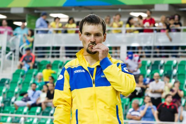Yegor Dementyev aims to defend world title, VIA PARALYMPIC.ORG
