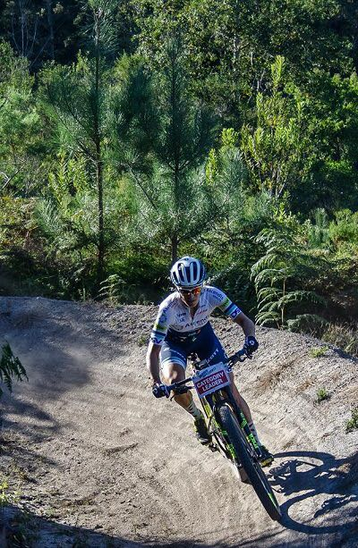 Four-time defending SA National MTB Marathon Champion, Robyn de Groot (Team Ascendis Health) will head to the City of Pietermaritzburg to battle it out once again for the coveted National Jersey at Cascades MTB Park on Sunday 21 May. Photo: Julie Anne Photography
