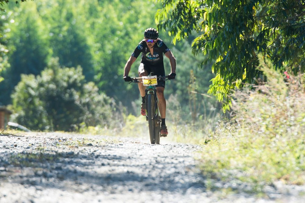 Nico Bell (NAD Pro Team) claimed the top honours in the Elite Men's race at the 2017 SA MTB Marathon Championships at Cascades MTB Park in Pietermaritzburg on Sunday 21 May. Photo: BOOGS Photography