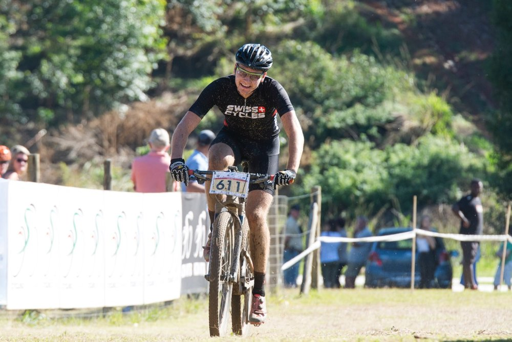 Pieter du Toit raced to the Junior Men's victory at the 2017 SA MTB Marathon Championships at Cascades MTB Park in Pietermaritzburg on Sunday 21 May. Photo: BOOGS Photography