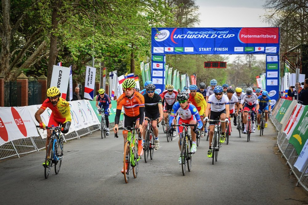 Team announcement for Para-cycling Road World Champs (RSA)