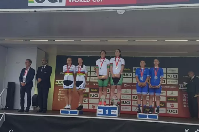Crawley star Dunlevy wins world cup golds