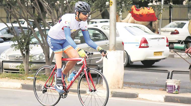 World Para-Cycling Championship: There are cyclists who can ride at 41-42 kmph with one leg, says Abishek Singh, via indianexpress.com