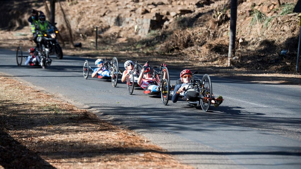 UCI Para-cycling Road Worlds: animation on the roads of Pietermaritzburg, via uci.ch