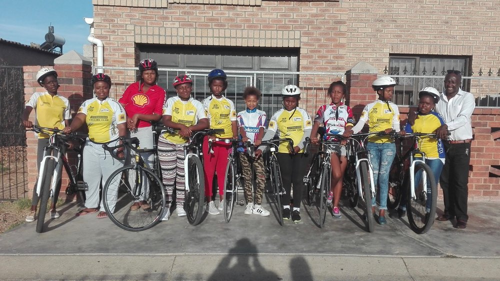 After approaching a local radio station in Port Elizabeth and reaching out to communities, Cycling South Africa Vice President and Eastern Cape Cycling Commission Director Mr Yster Xatasi started receiving phone calls and the Women's Cycling Academy in Port Elizabeth was formed. Photo: supplied.