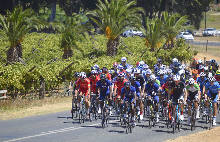 The 2018 SA National Road and Time Trial Championships will take place in Oudtshoorn from 6-11 February. Photo credit: www.edencycling.co.za