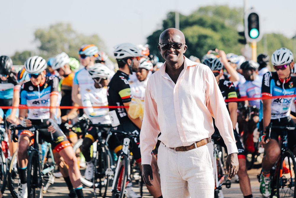 "Zamuxolo ""Yster"" Xatasi has been appointed as Acting President of Cycling South Africa by the Executive Committee (Exco) until the next elective congress in 2020 © TourDeLimpopo/HaydsBrown"
