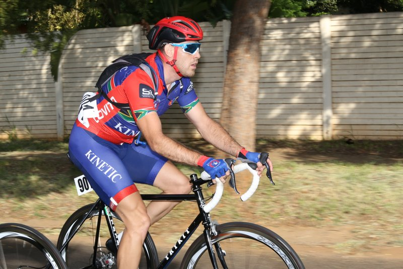 The competitive T2 tricycle race saw Goldy Fuchs clinch the gold medal ahead of Gerhard Viljoen at the 2019 SA ROAD National Championships held in the City of Tshwane from 7-10 February. Photo: Cycling SA/Rika Joubert