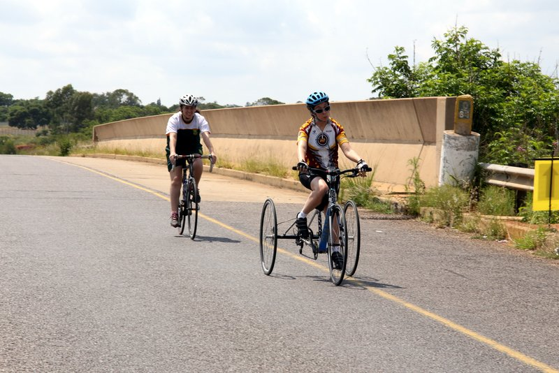 Toni Mould (T1) AT THE 2019 SA ROAD NATIONAL CHAMPIONSHIPS HELD IN THE CITY OF TSHWANE FROM 7-10 FEBRUARY. PHOTO: CYCLING SA/RIKA JOUBERT