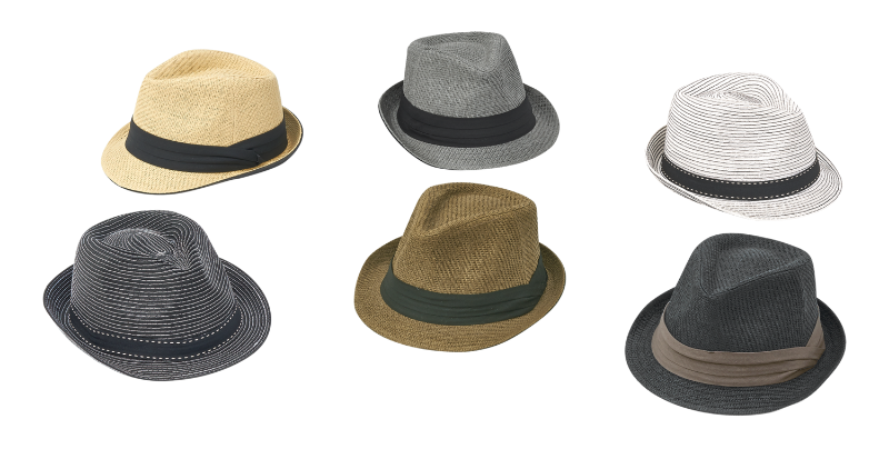 1497 ASSORTED FEDORAS