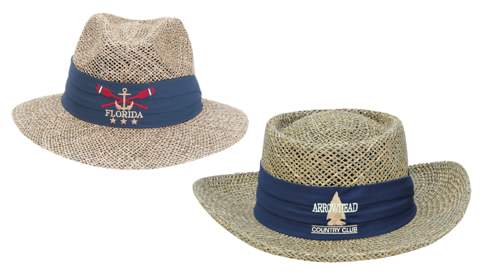 1499 ASSORTED SEAGRASS STRAW HAT