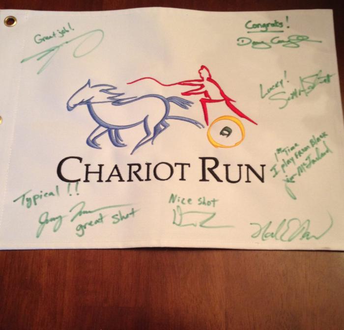 Hole #4 Chariot Run, Elizabeth, IN, 220 yards, 3 iron