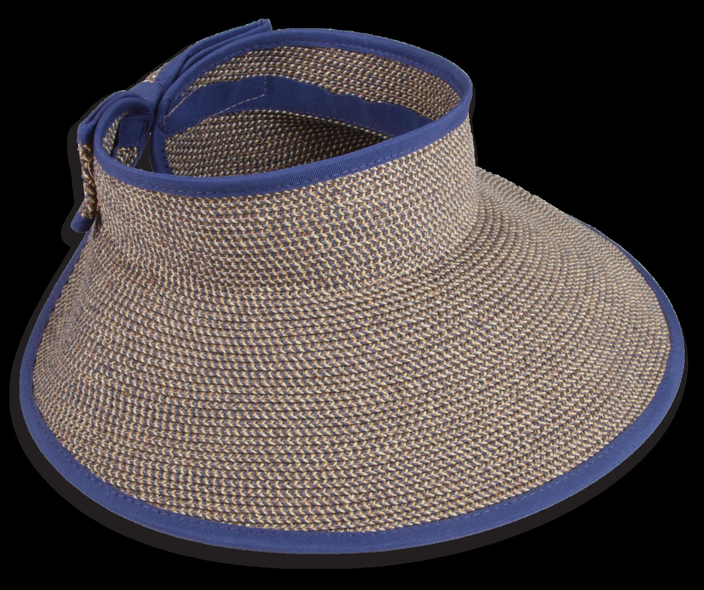 5335 Wide Brim Visor — Town Talk Headwear  3a8c6c4178e