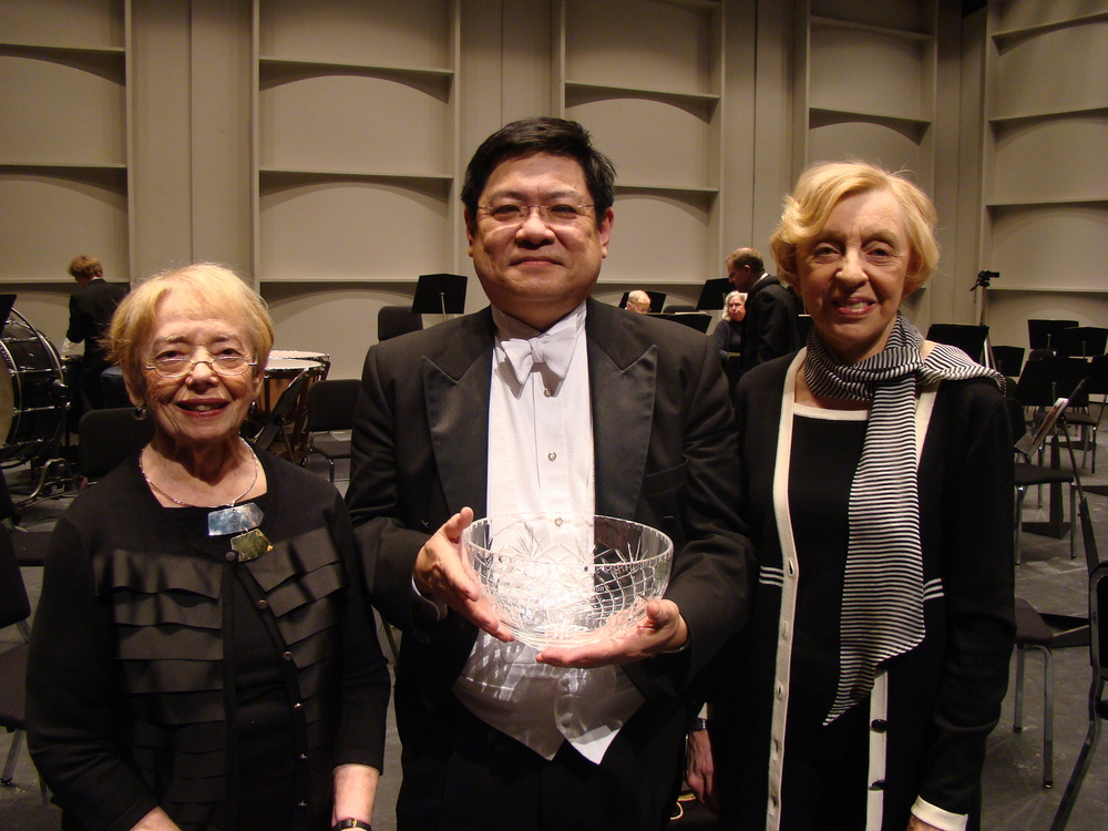 Dotty Rigby (L); Michael Jinbo (M); Lynn Sidehamer Brown (R)