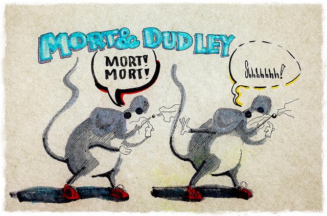 Mort & Dudley on Flickr.