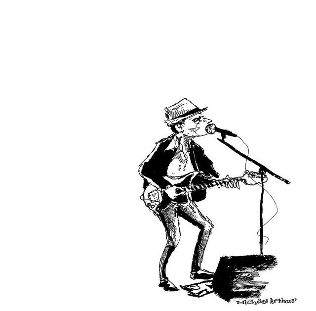 Freedy Johnston on Flickr. Freedy Johnston at Joe's Pub last night.