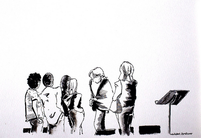 Trey Anastasio on Flickr. Drawn in the rehearsal studio, last year.