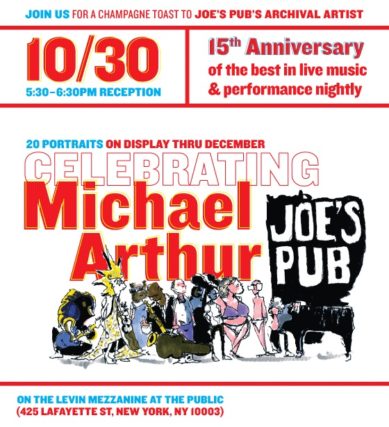 If you're in NYC, come join us on the 30th and check out some prints of my drawings! And check out Joe's Pub's Tumblr Page to find out how you might come and draw at the Pub!