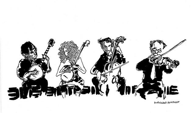 Sparrow Quartet  on Flickr.