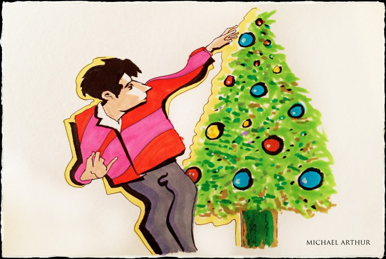 Groovin' around the Christmas Tree…