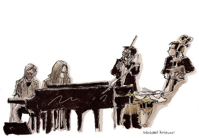 Graham Reynolds & The Golden Arm Trio at Joe's Pub on Flickr.
