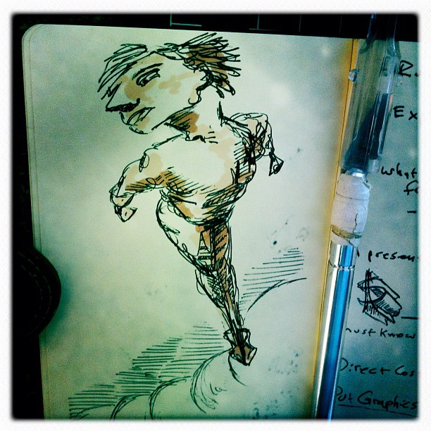 From a Moleskin notebook I found while cleaning the place. (at Creamer Creative Community)